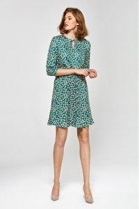 Sukienka cs16 - liście - CS16