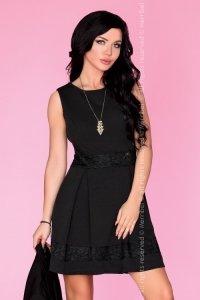 Jenessa 90438 sukienka mała czarna