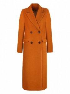 Płaszcz dwurzędowy- miodowy - PL06