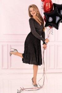 Frojene Black FZ1755 sukienka