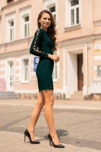 Merciana Dark Green 85198 sukienka