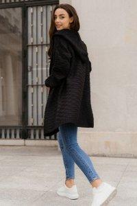 Sweter LS348 czarny