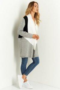 Sweter LS345 jasnoszary