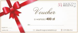 Bon podarunkowy 400 zł