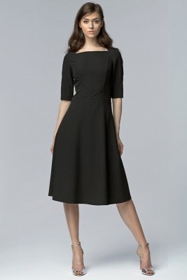 Sukienka MIDI - czarny - S63