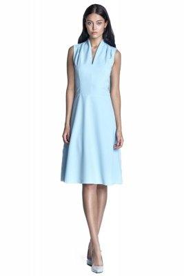 Sukienka - błękit - S74