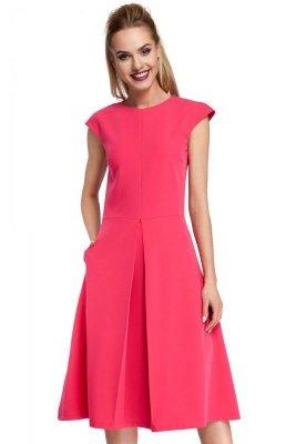 M296 Sukienka różowa
