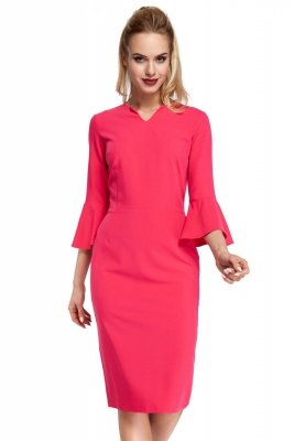 M299 Sukienka różowa
