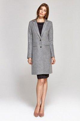 Klasyczny płaszcz - szary - CPL01