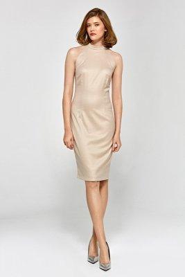 Sukienka cs14 - beż - CS14