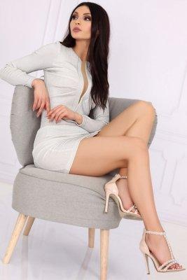 Aporva Silver sukienka