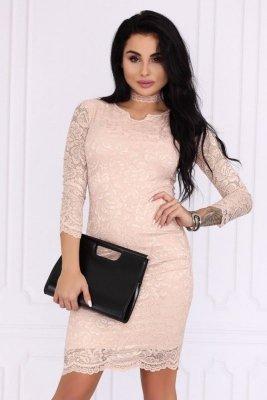 Merribel 10391D Pink sukienka