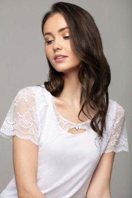 Selena biała bluzka