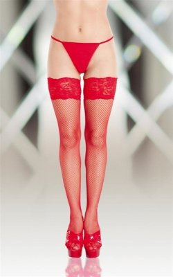 Stockings 5517 red