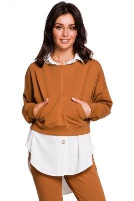 B125 Krótka bluza - karmelowa