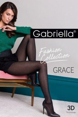 Gabriella Grace code 441 rajstopy z wzorem