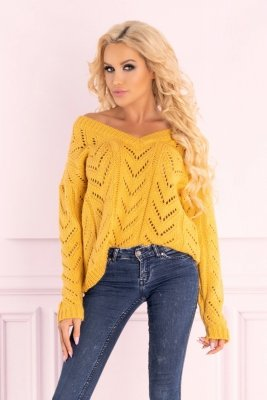Manesa Mustard sweter
