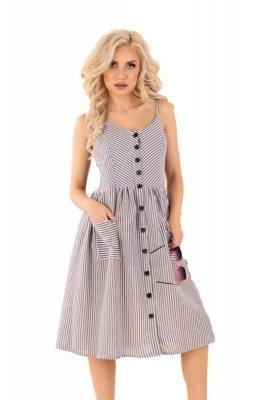 Eviniam Grey D89 sukienka