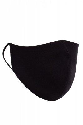 Maseczka odzieżowa 3 czarna