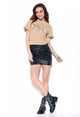 T-shirt Angels LG539 beżowy