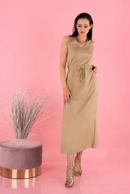 Anara Beige D144 sukienka