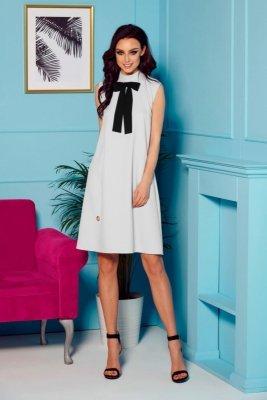 1 Sukienka L296 jasnoszary PROMO