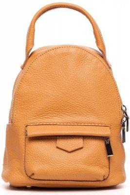 SB515 Skórzany plecak - rudy