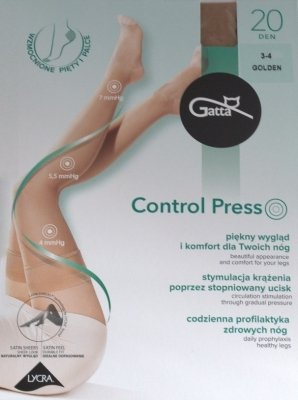 POŃCZOCHY GATTA CONTROL PRESS 20 den