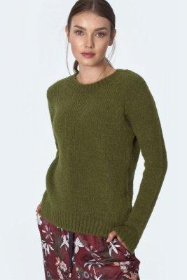 Klasyczny zielony sweter - SW07