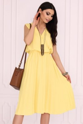 Raschele Yellow 85502 sukienka