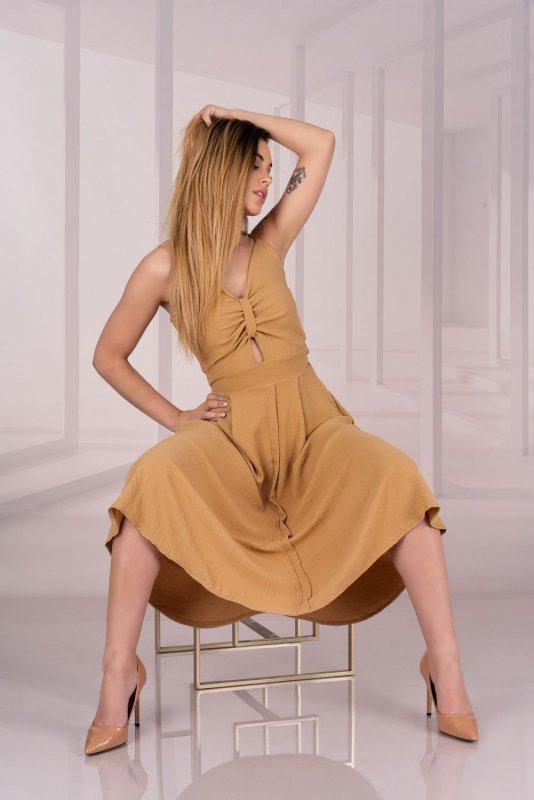 Molinen Camel D04 sukienka