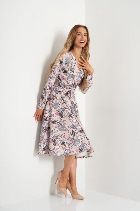 Sukienka L392B pantofelki