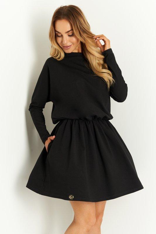 Sukienka L407 czarny