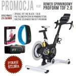 Rower Spinningowy TDF 2.0 + członkostwo + pas + opaska