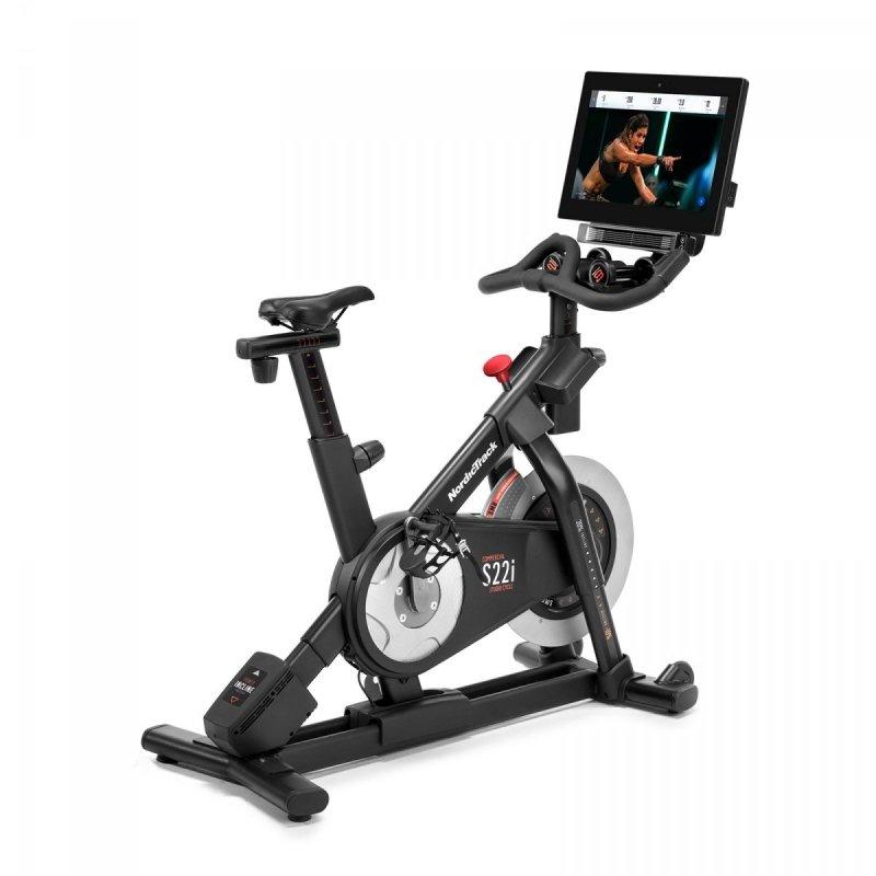 Rower spiningowy NordicTrack S22i + roczne członkostwo iFit