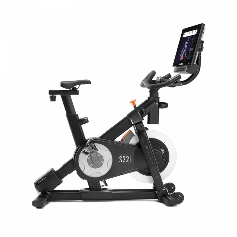 Rower spiningowy NordicTrack Commercial S22i + Roczne członkostwo iFit