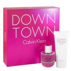Calvin Klein Downtown Zestaw - EDP 50 ml + BL 100 ml