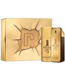 Paco Rabanne 1 Million Zestaw - EDT 100 ml + DEO 150 ml