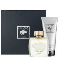 Lalique pour Homme Lion Zestaw - EDP 75 ml + SG 200 ml
