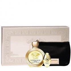Versace Eros pour Femme Zestaw - EDP 100 ml + EDP 10 ml + pouch