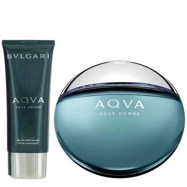 Bvlgari Aqua Pour Homme Set - Eau de Toilette 100 ml + After Shave Balm 100 ml