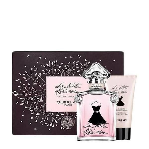 Guerlain La Petite Robe Noire Set - Eau de Toilette 100 ml + Body Milk 75 ml + pouch