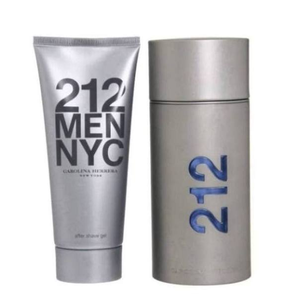 Carolina Herrera 212 Men NYC Set - Eau de Toilette 100 ml + After Shave Gel 100 ml