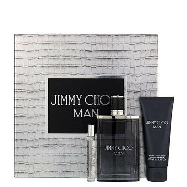 Jimmy Choo Man Set - Eau de Toilette 100 ml + mini Eau de Toilette 7.5 ml + After Shave Balm 100 ml