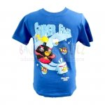 T-shirt Angry Birds Space kolor granatowy