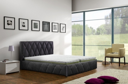 Caro 80; 90; 100; 120; 140; 160; 180 cm | UPHOLSTERED BED FRAMES