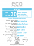 Emulsja na słońce SPF 30 NEUTRAL - próbka 3 ml