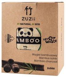 ZUZII Węgiel bambusowy - pochłaniacz wilgoci / zapachów 2 x 500 g