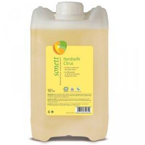 Sonett Mydło w płynie CYTRUS - opakowanie uzupełniające 10 litrów