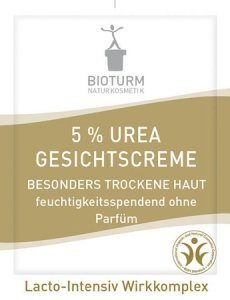 Bioturm Intensywnie nawilżający krem do twarzy 5% Urea Nr 7, PRÓBKA 3 ml